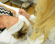 monthly facials featured
