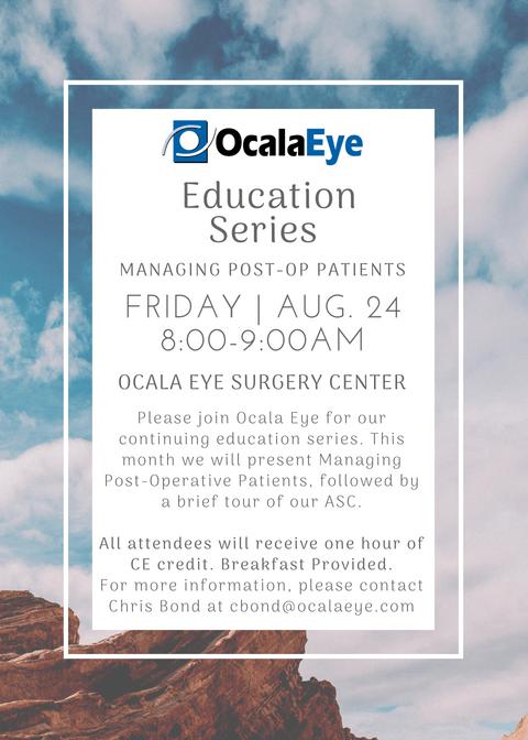 Ocala Eye Education Series